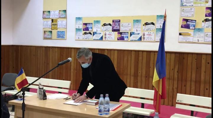VIDEO Sorin Popa, primarul din Comarnic, a depus jurământul