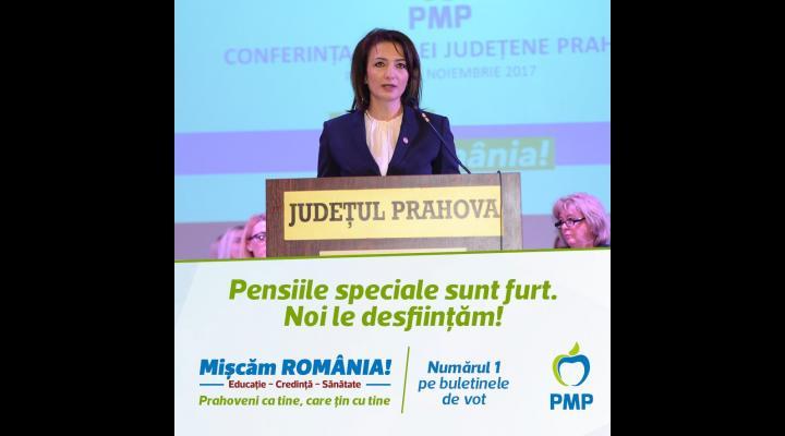 """PMP: """"Pensiile speciale sunt furt. Noi le desființăm"""""""