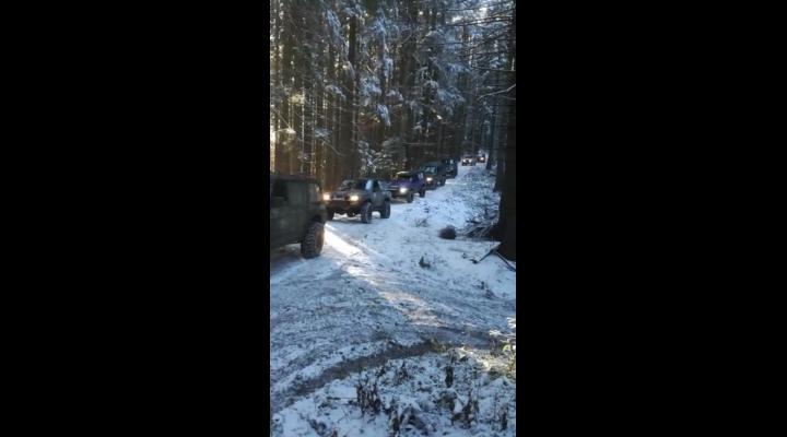 VIDEO: Aventura ilegala in munti!