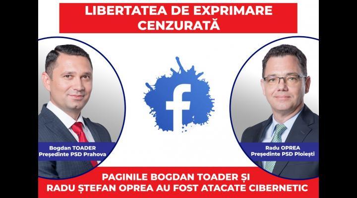 Reapare CENZURA? Bogdan Toader și Radu Ștefan Oprea, atacați cibernetic!