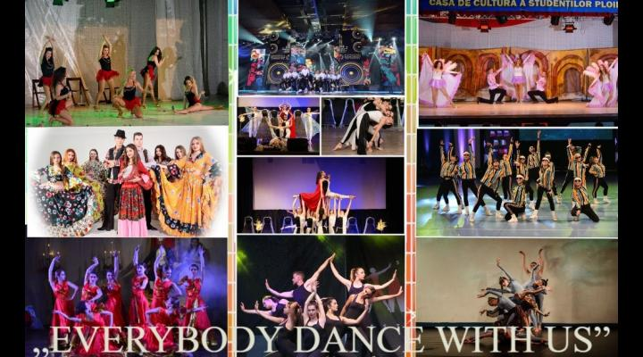 """Câștigătorii Concursului Național de Dans """"EVERYBODY DANCE WITH US"""""""