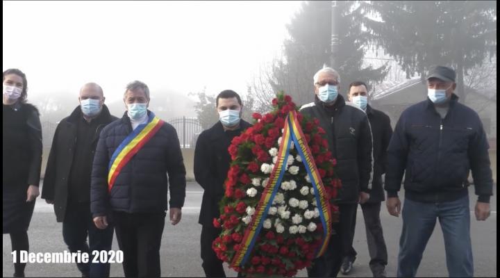 Si in Puchenii Mari a fost marcata Ziua Nationala Romaniei. Totul s-a intamplat printr-o ceremonie restransa