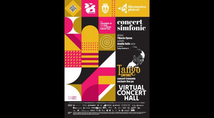 Concert online Analia Selis - Tango Simfonic, pregatit de filarmonica ploiesteana