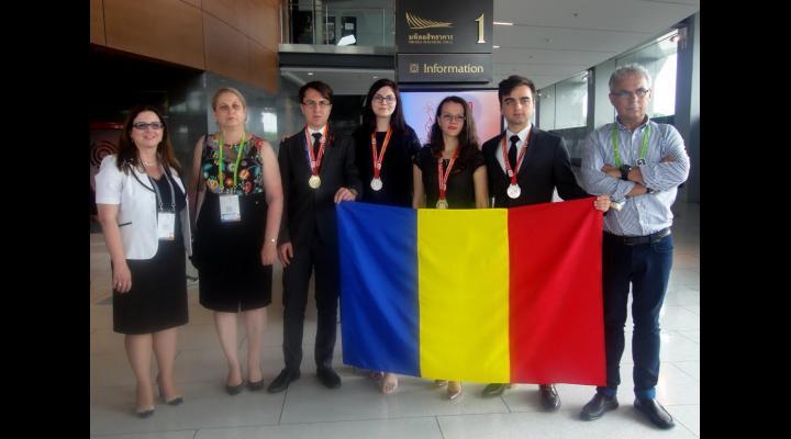 Două medalii de aur şi două medalii de argint: palmaresul echipei României la Olimpiada Internaţională de Chimie 2017