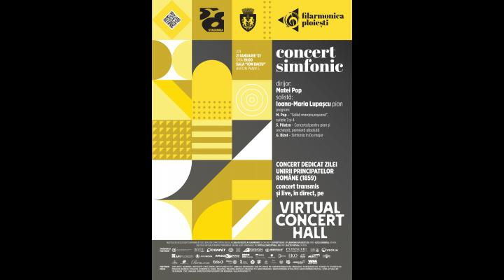Filarmonica Ploiești: concert simfonic dedicat Unirii Principatelor Române