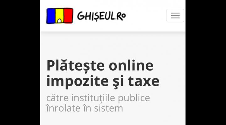 Localnicii din Paulesti pot achita si online taxele si impozitele