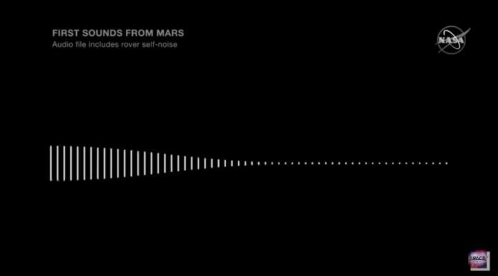 AUDIO: Cum se aude sunetul vantului pe planeta Marte