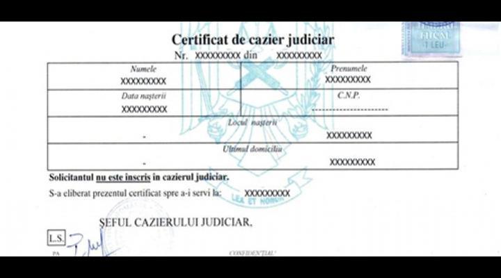 PRAHOVA: 3 NOI PUNCTE DE LUCRU PENTRU ELIBERAREA CERTIFICATELOR DE CAZIER JUDICIAR