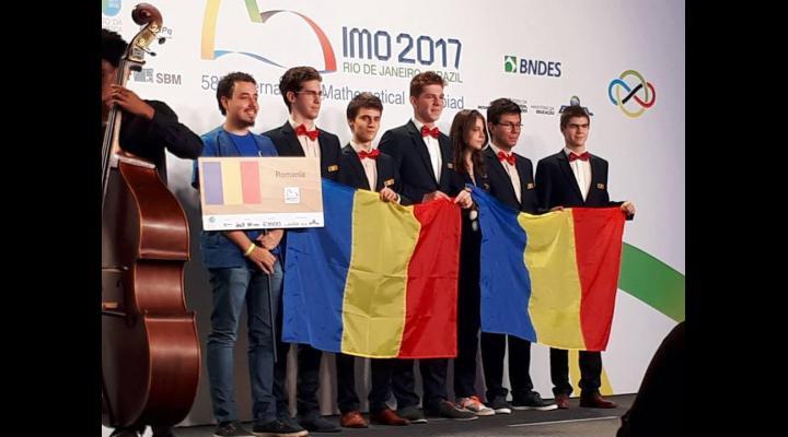 Trei medalii de argint, două medalii de bronz și o mențiune: bilanţul participării româneşti la a 58-a ediţie a Olimpiadei Internaţionale de Matematică