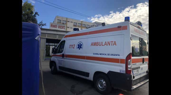 Bărbat de 30 de ani, rănit cu un pistol airsoft în Ploiești, transportat la spital