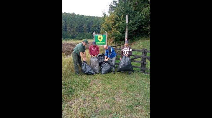 Direcția Silvică Prahova, implicată în acțiunea Let's do it România/Mai multe zone, ecologizate