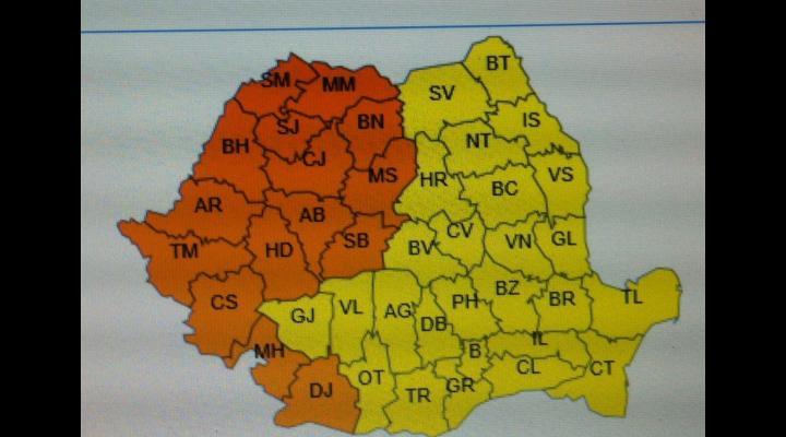 Cod galben de caniculă, în Prahova