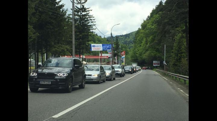 Trafic rutier intens pe DN1 Ploiești – Brașov
