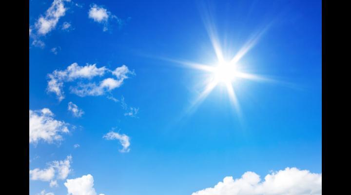 Prognoza meteo pentru următoarele două săptămâni. În Muntenia, pe 19 august temperaturile ajung din nou la 34 de grade Celsius