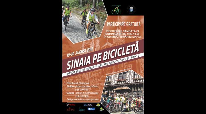 """Mergi la """"Sinaia pe bicicletă"""", în zilele de 19 și 20 august"""