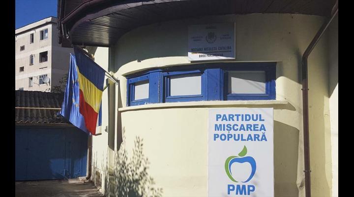 Deputatul PMP, Cătălina Bozianu, dă audiențe în noul sediu al partidului de la Câmpina