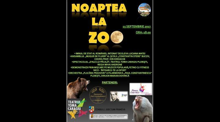 Noaptea la ZOO. Programul evenimentului