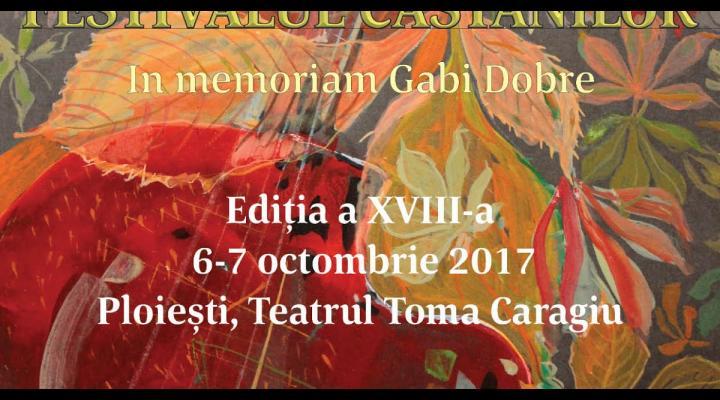 Ducu Bertzi, Vasile Șeicaru și Alifantis & Fragileband sunt doar câțiva dintre artiștii care vor cânta anul acesta la Festivalul Castanilor de la Ploiești