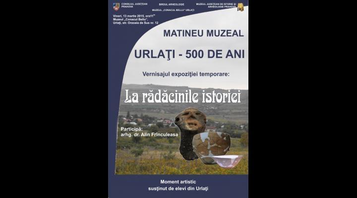 500 ani de la prima atestare documentara a orasului Urlati