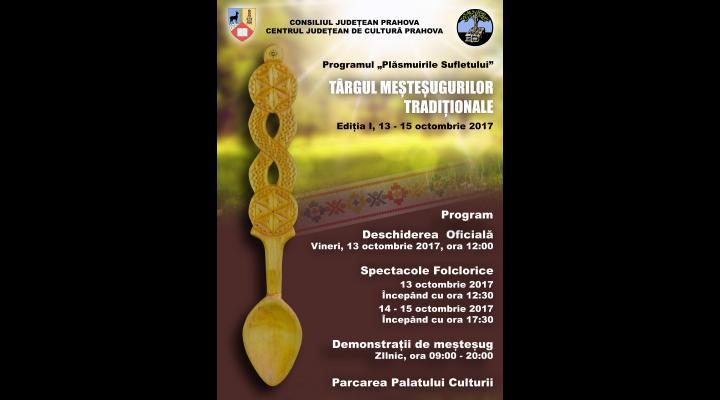 Demonstratii de mestesug, muzica si dans la Târgul Meșteșugurilor Tradiționale, in Ploiesti