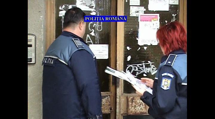 Parteneriat al polițiștilor din Vălenii de Munte cu cetățenii pentru prevenirea infracțiunilor