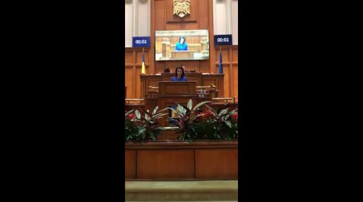 """(VIDEO) Catalina Bozianu (PMP):""""Menținerea în funcție a ministrului Liviu Pop, o dovadă a lipsei de respect pe care o manifestă PSD față de români"""""""