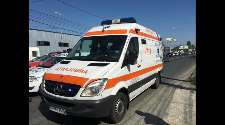 Accident in Ploiesti. Cinci persoane au fost ranite