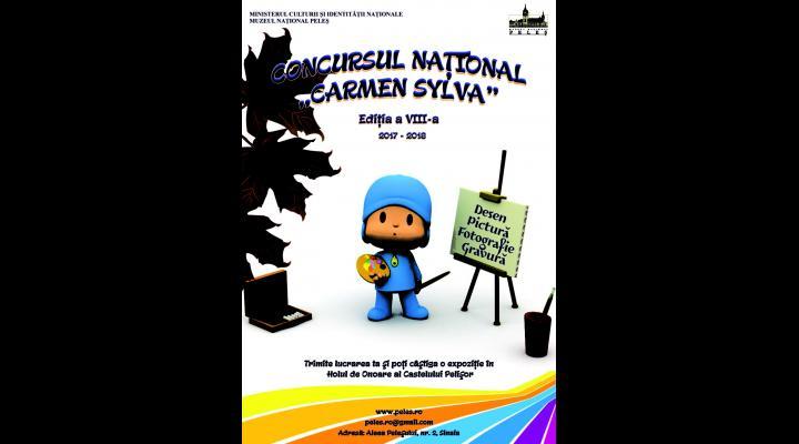 """Au început înscrierile pentru artiștii amatori la CONCURSUL NAŢIONAL """"CARMEN SYLVA"""", EDIŢIA A VIII-A, 2017-2018"""