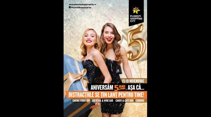 (P) Petrece un weekend de poveste la a 5-a aniversare Ploiesti Shopping City