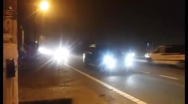 Ceață densă, pe DN1! Se circulă bară la bară la Comarnic - VIDEO EXCLUSIV