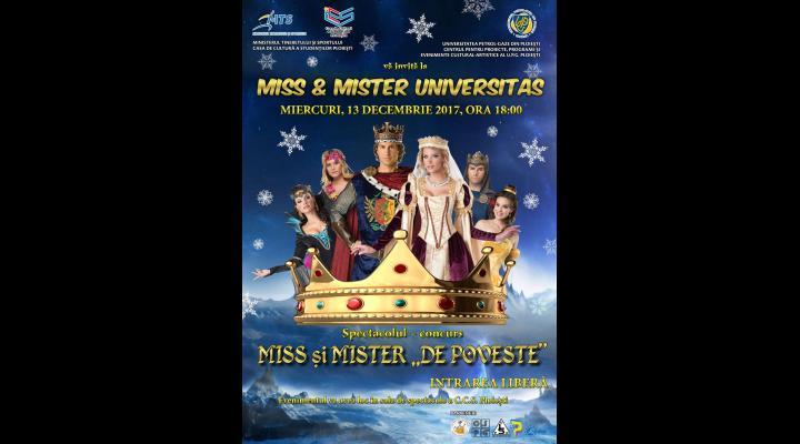 """""""Miss & Mister Universitas"""", la UPG Ploiești"""