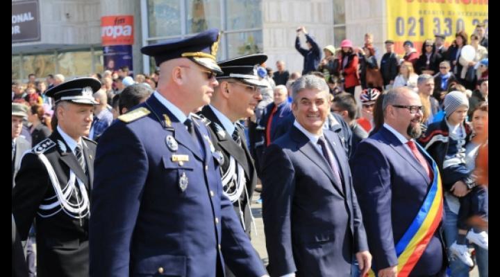 ZIUA POLITIEI ROMANE, DEMONSTRATII SI FOC DE ARTIFICII