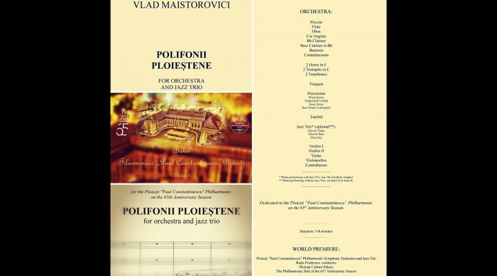 """""""BALUL Filarmonicii"""" aduce o primă audiție absolută: """"Polifonii Ploieștene"""""""