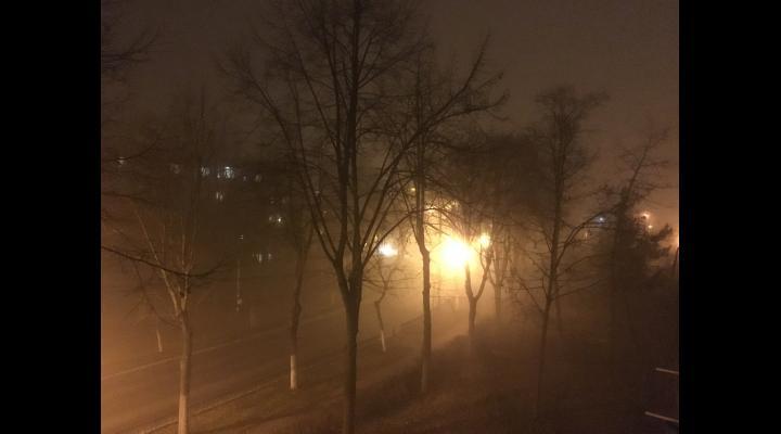 Sfaturi de la politisti: cum circulam pe timp de ceata