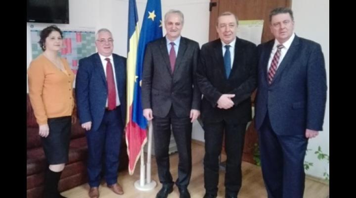 Inspectoratul Școlar Prahova a încheiat un acord de colaborare cu primăria unui oraș din Grecia