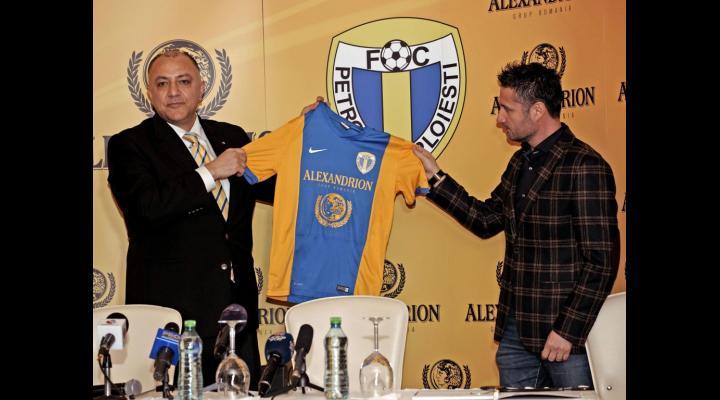 ALEXANDRION A DEVENIT SPONSORUL PRINCIPAL AL FC PETROLUL