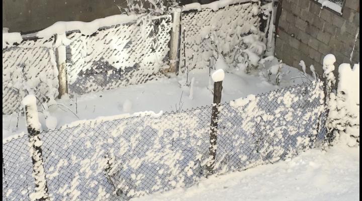 Avertizare meteo de lapovita si ninsoare, in Prahova!