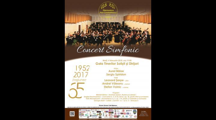 "CONCERT SIMFONIC ""Gala tinerilor soliști și dirijori"""