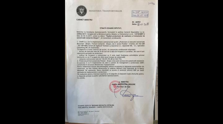 """Bozianu:  autostrada Comarnic-Brașov va fi gata la... """"sfântul așteaptă"""""""