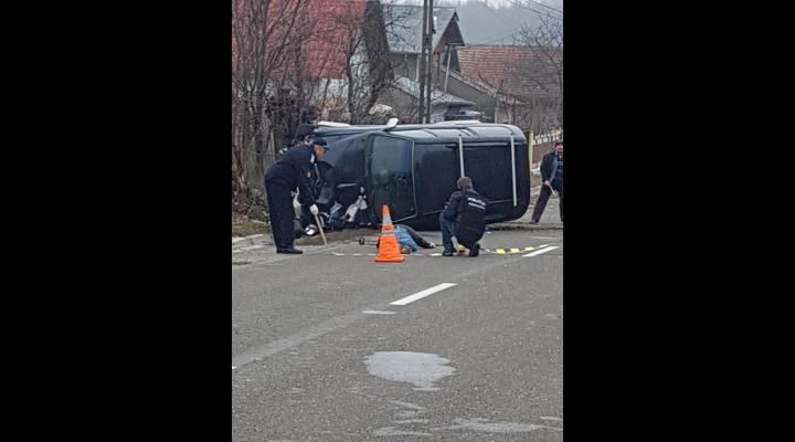 Accident mortal in Poiana Campina. Un pieton lovit de masina a decedat
