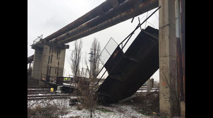 Distribuția de agent termic pentru Municipiul Ploiești nu este afectată în prezent, in conditiile pasarelei cazute