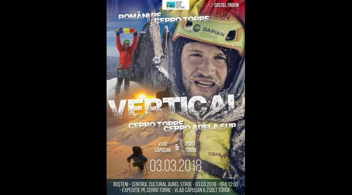 Alpin Film Festival, la Busteni. Povestea incredibila a alpiniștilor Vlad Căpușan și Zsolt Torok
