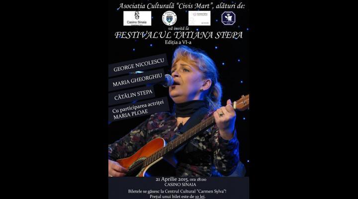 """SINAIA: Festivalul """"Tatiana Stepa"""""""