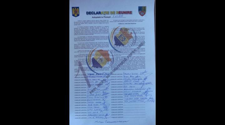 PMP Prahova: Vom promova Unirea în toate consiliile locale prahovene în care PMP este reprezentat