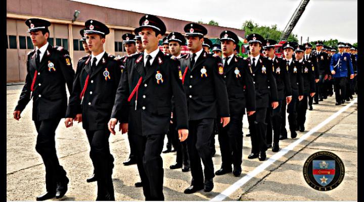 """Si viitorii pompieri ai Școlii """"Pavel Zăgănescu"""" Boldești au depus Jurământul Militar"""