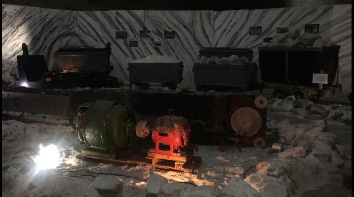 Călătorie virtuală 3D în salină, la Muzeul Sării din Slănic