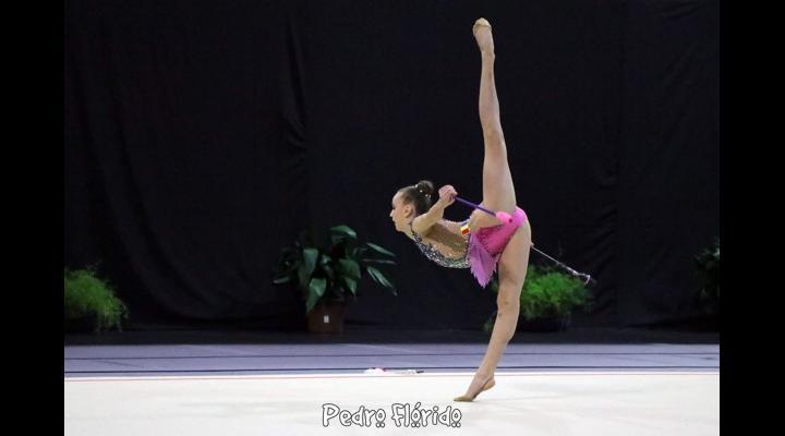 """Gimnasta Denisa Stoian, medalie de aur la Turneul Internaţional """"Aphrodite Cup""""!"""