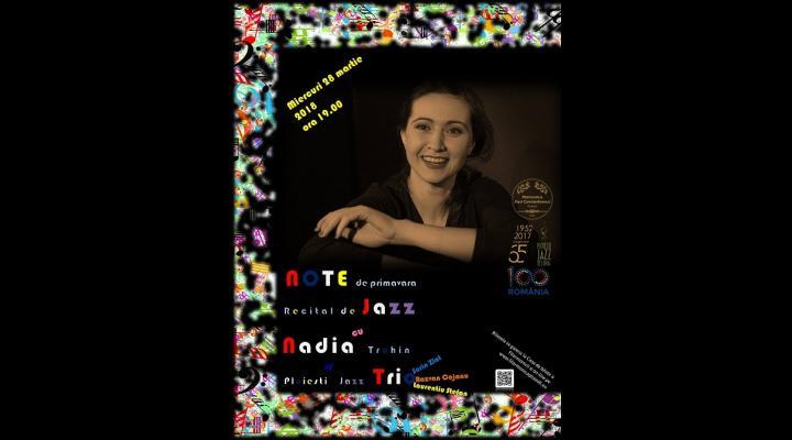 """""""Note de Primăvară"""" - Recital de JAZZ, la Filarmonica """"Paul Constantinescu"""""""