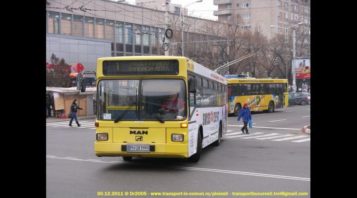Anunt TCE: cum circula autobuzele, de Paste