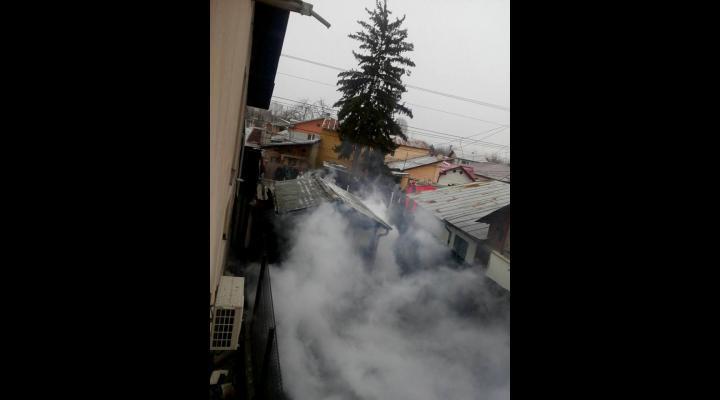 Incendiu la Colceag